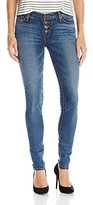 Hudson Women's Ciara Super Skinny Exposed Button Fly Jeans
