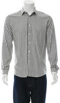 Ami Alexandre Mattiussi Striped Button-Up Shirt