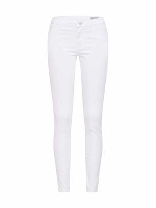 Vero Moda Women's Vmjulia Flex It Mr Slim Jegging Color Jeans