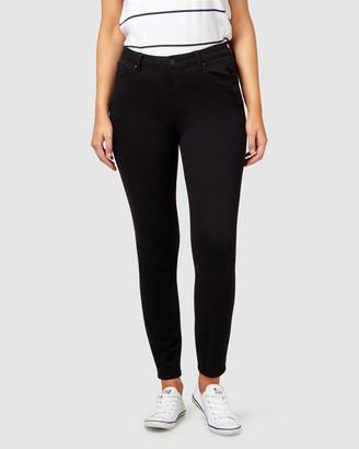 Jeanswest Curve Embracer Skinny Jeans Black Night