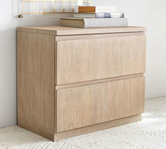 """Pottery Barn Pacific 34"""" 2-Drawer Lateral File Cabinet"""