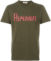 MAISON KITSUNÉ Parisien print T-shirt - men - Cotton - S