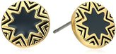 House Of Harlow Enameled Sunburst Stud Earrings
