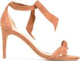 Alexandre Birman knotted stiletto sandals - women - Suede/Leather - 36