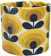 Orla Kiely 70s Flower Fabric Plant Bag - Dandelion - Small