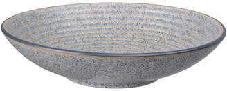 Denby Studio Grey Stoneware Ridged Bowl