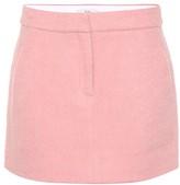 Tibi Mohair-blend miniskirt
