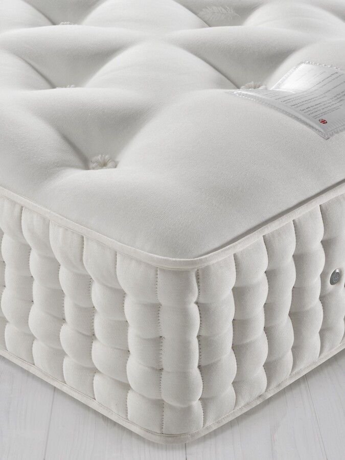John Lewis & Partners Natural Collection Cashmere 26400, Small Double, Firm Tension Pocket Spring Mattress
