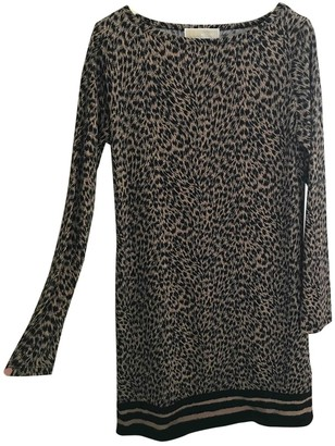Michael Kors Brown Polyester Dresses