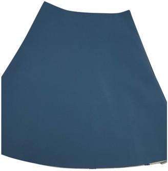 Acne Studios Blue Wool Skirt for Women