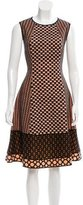 Missoni Embroidered A-Line Dress