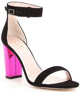 Kate Spade Ilona Too Color Block Buckle Closure Dress Sandals