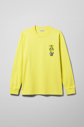 Weekday Amped Strategies Long Sleeve - Yellow