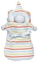 Under the Nile Stroller Blanket Baby Buddy Toy Gift Set - Orange