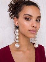White Dion Earrings