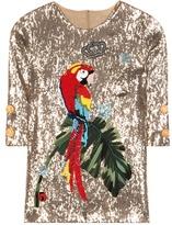 Dolce & Gabbana Sequinned Blouse