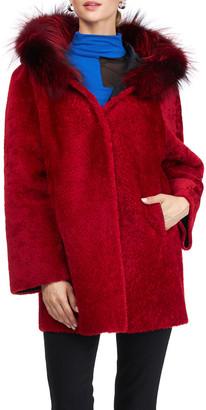 Gorski Reversible Shearling Lamb Jacket