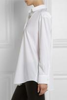Acne Studios Leia oversized cotton-poplin shirt