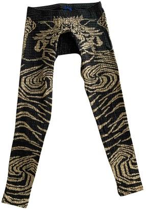 Bernhard Willhelm Black Cotton Trousers for Women