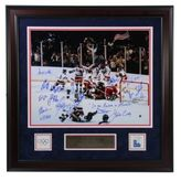 Steiner Sports 1980UsaHockey Autographed Framed Photograph