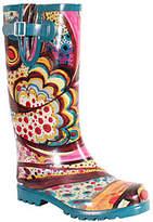NOMAD Puddles Turquoise Monet Rubber Rain Boots