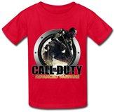 LR KIDS T SHRIT LR Call Of Duty Advanced Warfare Icon T Shirt For Kids Big Boys' Tee Shirt M