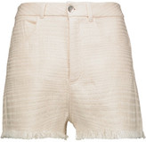 IRO Kania Cotton-Blend Tweed Shorts