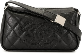 Chanel Pre Owned 2007 CC diamond-quilted shoulder bag