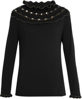 Alex Gore Browne Carnival wool and cashmere-blend sweater