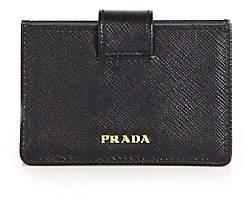 Prada Women's Saffiano Leather Accordion Card Case