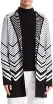 St. John Chevron Jacquard Knit Jacket