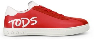 Tod's Logo Motif Sneakers