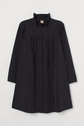 H&M H&M+ Frill-collared dress