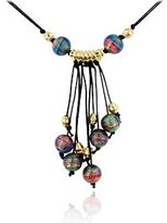 Antica Murrina Veneziana Tahiti - Murano Glass Bead Drop Necklace