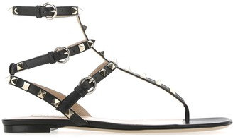 Valentino Rockstud Open-Toe Sandals