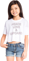 Chaser Peace Love & Cupcakes Tee