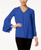 Alfani Bell-Sleeve Top, Only at Macy's