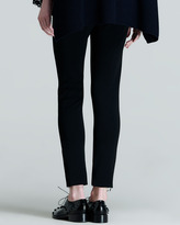Valentino Ankle-Zip Legging Pants
