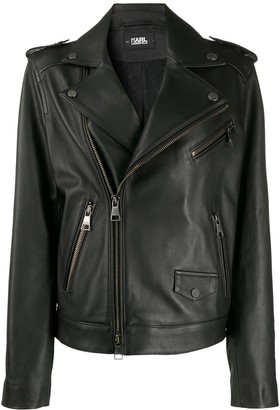 Karl Lagerfeld Paris Legen biker jacket
