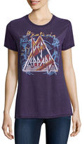 New World Def Leppard Graphic T-Shirt- Juniors