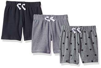 Amazon Essentials Baby Boys 3-Pack Pull-On Short