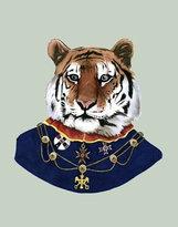 Berkley Illustration Tiger Portrait Print