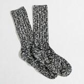 J.Crew Factory Marled camp socks