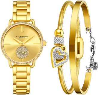 Stuhrling Original Women's Vogue Watch & Bracelets