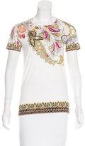 Etro Abstract Print Short Sleeve T-Shirt w/ Tags