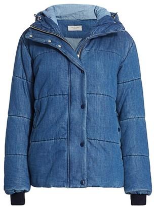 Rag & Bone Denim Puffer Jacket