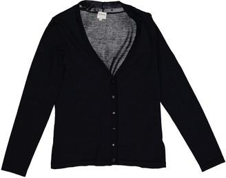 Armani Collezioni Navy Wool Knitwear for Women