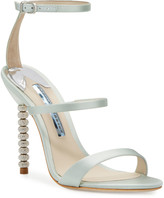 Sophia Webster Rosalind Strappy Bridal Sandals, Ice Blue