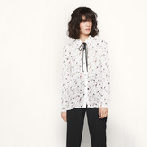 Maje Floaty printed shirt