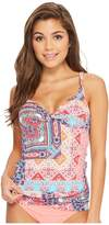 Bleu Rod Beattie Free Spirit OTS Underwire Twist Tankini Women's Swimwear